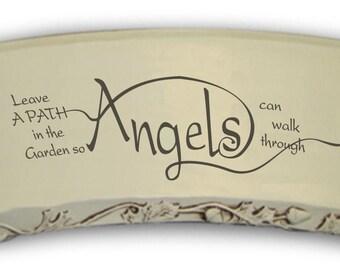CUSTOM - Angel Garden Bench