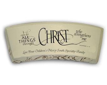 CUSTOM - Christ Bench