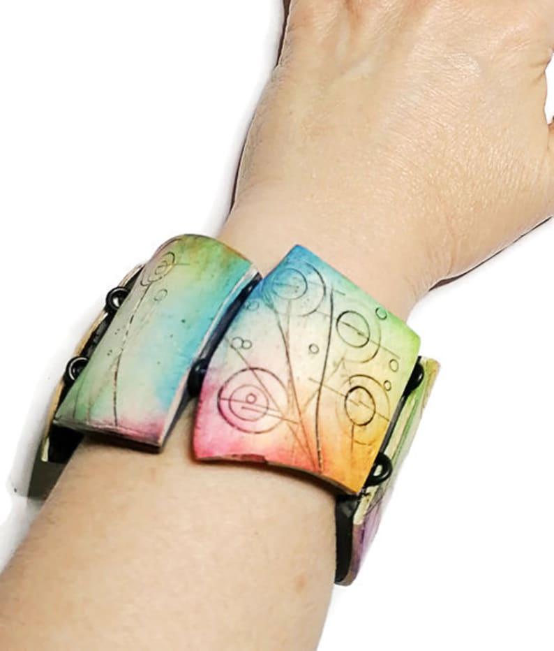 PDF Tutorial Instant Download Tutorial Jewellery Making Crazy Bracelet Making Tutorial DIY Bracelet for Woman Polymer Clay Tutorial
