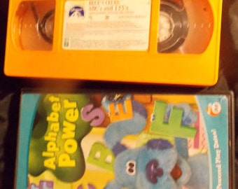 Blues Clue, Blue's Clues, Blue's Clue CD /Vhs Tape, Blue's Clue Toys, Blue's Clue ABC and 123 learning, Kids Learning, Blue's Clue Learning