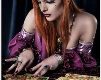 Psychic Reading, Tarot Deck, Learn to Read Tarot, Printable Tarot Cards, Tarot CheatSheet, Tarot Beginner's Kit Psychic Readings