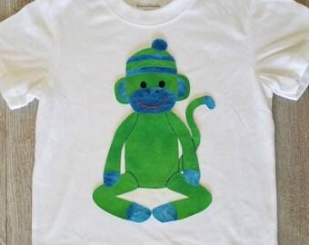 Sock Monkey, Hand Sewn, Toddler Boy Clothes, Boy Clothes, Toddler Boy, Custom Colors