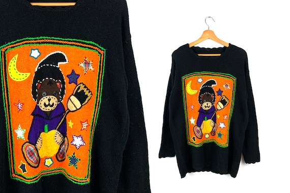 Vintage Ugly Halloween Sweater