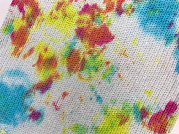 Vintage Y2K Tie Dye Tank Top - image 8