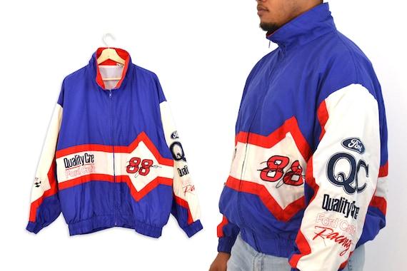 90s Vintage 88 Dale Jarrett Nascar Windbreaker Jac
