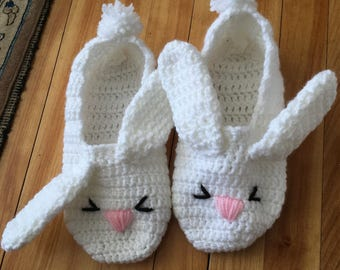 Chaussons lapin !
