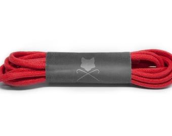 e47927786f2ab Red Men's Custom Shoelaces