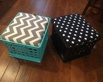 Storage Seat Crates/Flexible Seating ~ TOPS ONLY