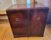 Rare Zenith Mahogany Cabinet with Radio and Turntable Local Pickup Only Akron, NY
