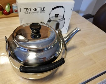Vintage Progressive Stainless Teapot - Korea