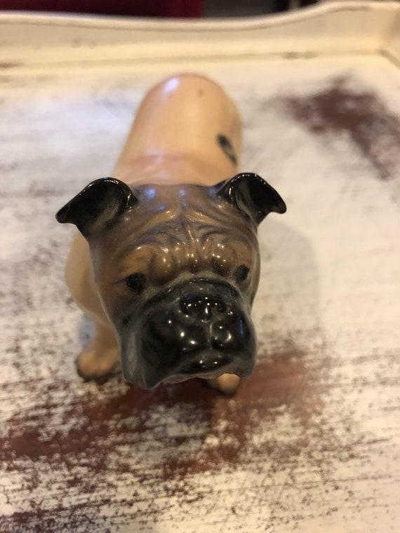 FREE SHIPPING-Hagen-Renaker-English Bulldog