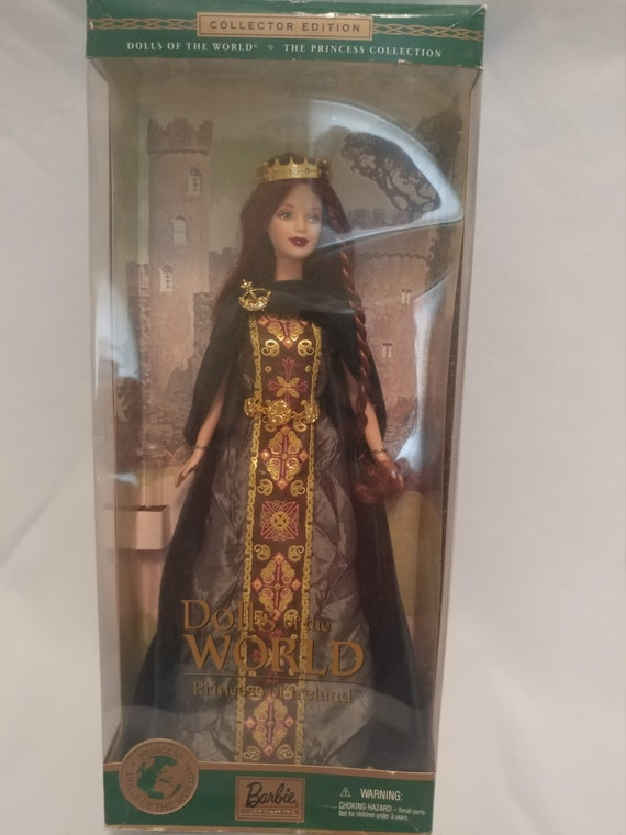 FREE SHIPPING- 1999 Limited Edition Dolls of the World. Princess of Ireland Barbie Doll. #53367