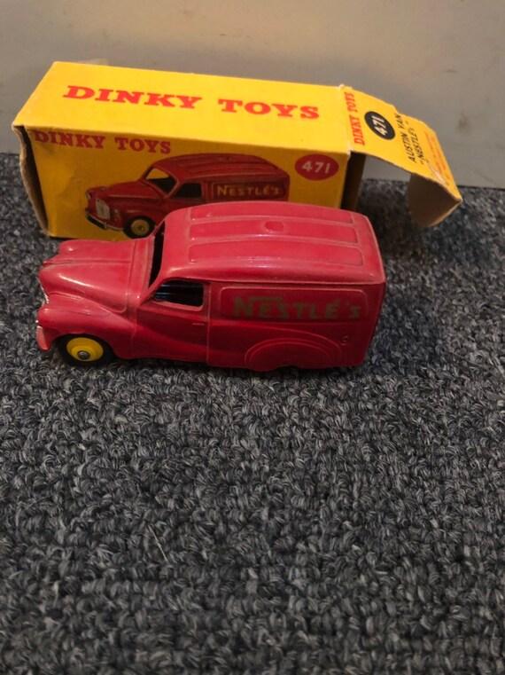 FREE SHIPPING-Dinky Toys-#471-Austin Van Nestles