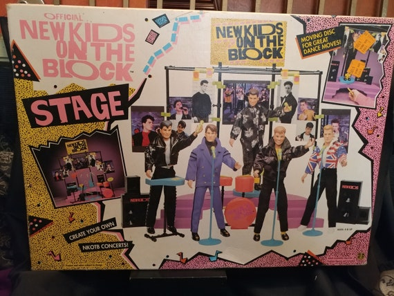 FREE SHIPPING- Official New Kids on The Block Concert Series Band Stage. Unopened- New In Box. Never Used!