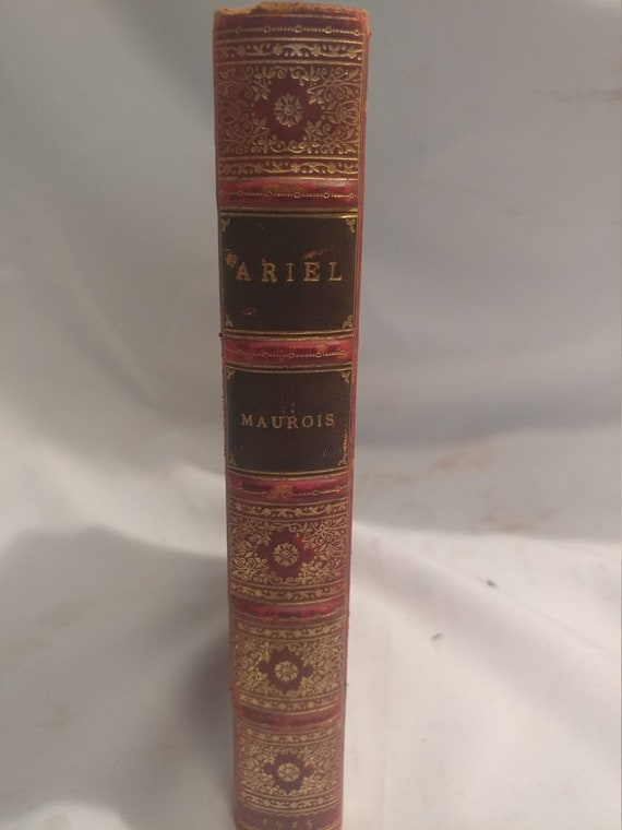"""FREE SHIPPING- """"Ariel"""" by Andre Maurois. Translated by Ella D'Arcy. Published by John Lane The Bodley Head, London (1925)."""