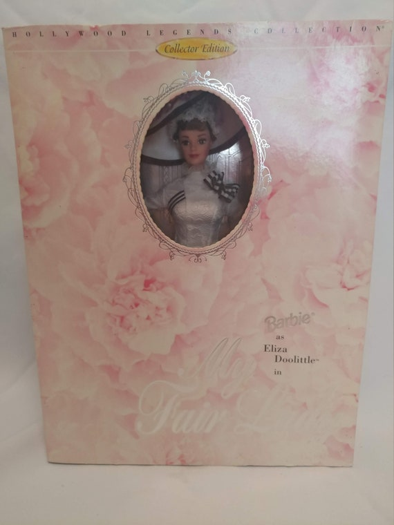 FREE SHIPPING- Hollywood Legends Collector's Barbie Doll. Eliza Doolittle in My Fair Lady. New in Box