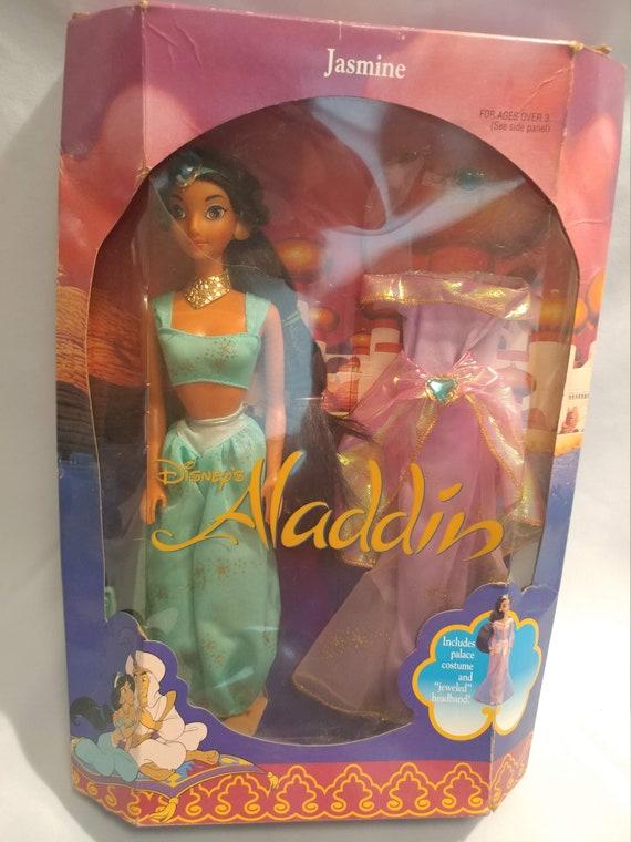 FREE SHIPPING- Disney's Alladin Princess Jasmine Doll by Mattel. New in Box #2557