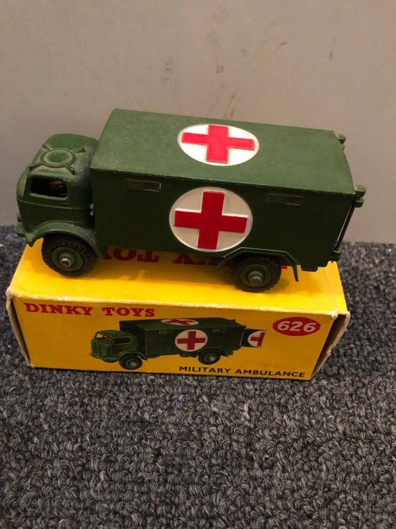 FREE SHIPPING-Dinky Toys-#626-Military Ambulance-4 Inch