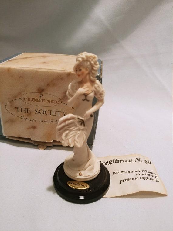 "Giuseppe Armani Florence ""The Society"" figurines 1999 361/F Chantal- Art Nouveau Lady"