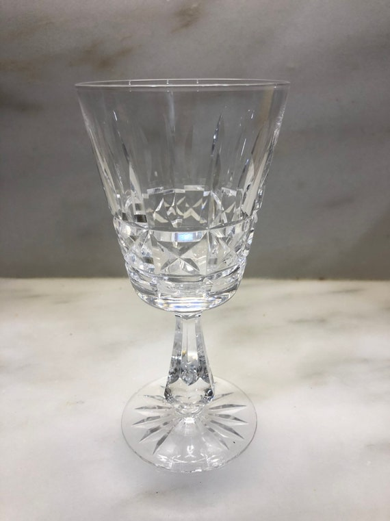 FREE SHIPPING-Waterford-Kylemore-Wine-Cut Crystal-6 Inch Stem