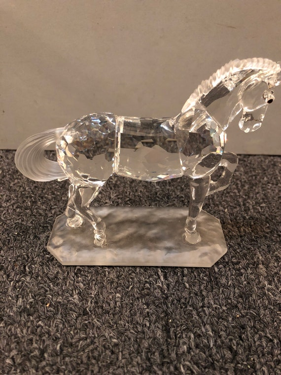 Swarovski-Arabian Stallion-Horse On Parade Series-