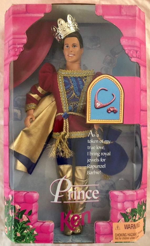 New In Box-Vintage-1997-Mattel-Prince-Ken-Doll