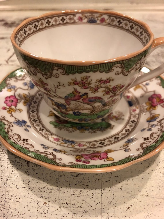 FREE SHIPPING-English-Spode Copelands China-England -Eden-Cup and Saucer