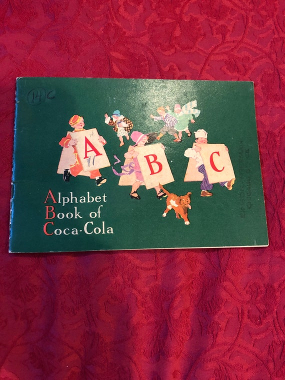FREE SHIPPING- Coca Cola - Alphabet Book