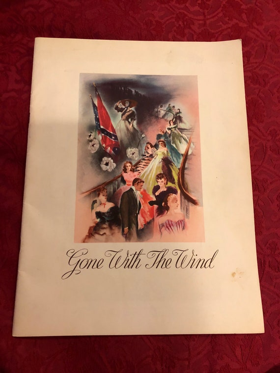 FREE SHIPPING-Gone With The Wind-1939 Premier and Theater Program
