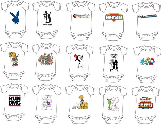 Graphic-Baby-Onesies-Any Graphic-Any Size