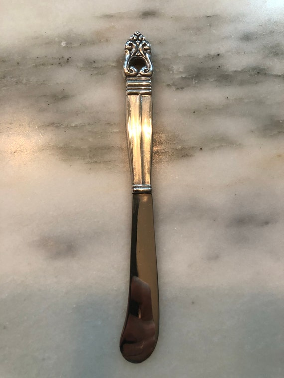 FREE SHIPPING-International-Royal Danish-Sterling Silver-Butter Spreader/Knife