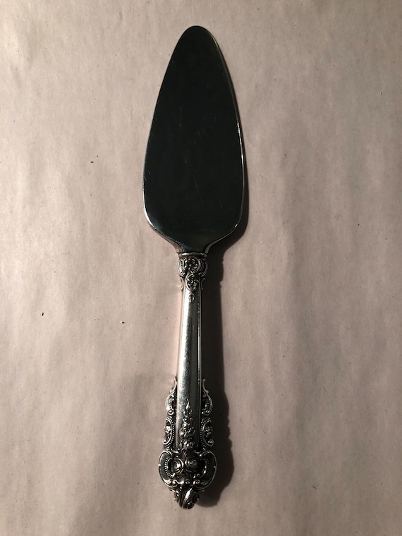 FREE SHIPPING-Wallace-Grande Baroque-6 1/2 Inch-Cheese Server