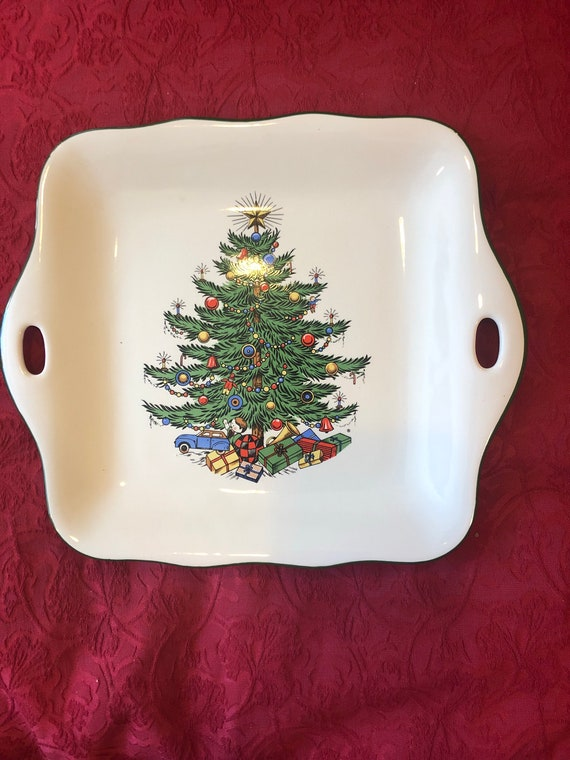 FREE  SHIPPING-Cuthbertson-Original Christmas Tree-Cookie Tray