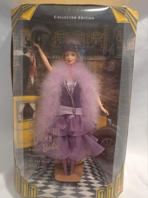 FREE SHIPPING- Great Fashions of the 20th Century. 1920's Dance til Dawn Barbie #19631