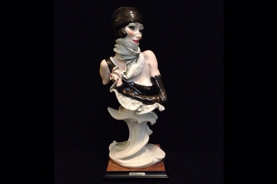 "FREE SHIPPING-Fabulous-Made In Italy-Giuseppe Armani-1989-Signed-13 3/4""-523-C-Mystery-Sculpture"