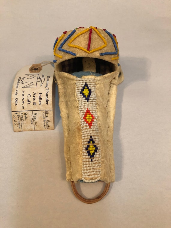FREE SHIPPING-Apache Native American-Toy Baby Cradle