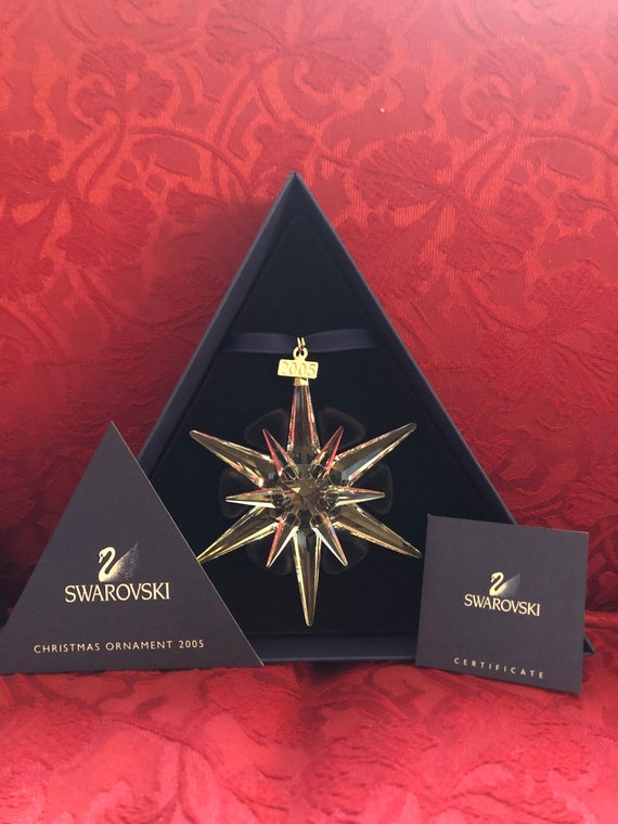 FREE SHIPPING-Swarovski-Christmas Ornament