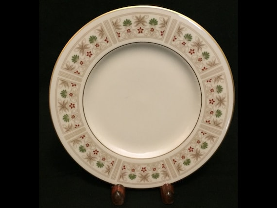 "FREE SHIPPING-Fabulous-Lenox-Tableau-Made USA-6 3/8""-Bread And Butter Plate"