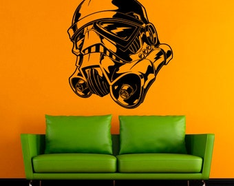 Stormtrooper Vinyl Sticker Star Wars Wall Decal Comics Vinyl Decals Wall Vinyl Decor /9qet/