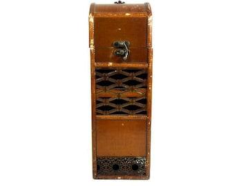 Vintage wooden Wine Bottle Chest Wine Bottle Holder Bottle Storage Box