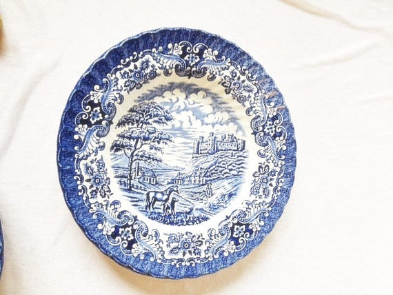 & Olde Country Castles Hostess Tableware Ironstone 9 Inches