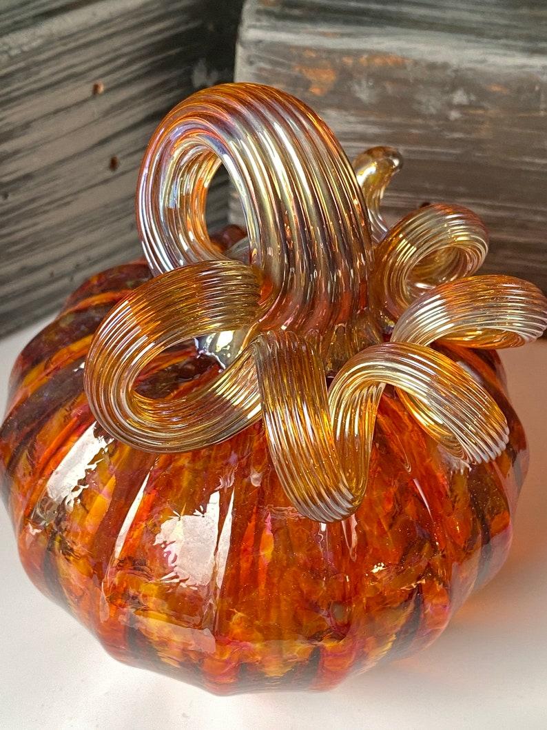 Glass Pumpkin 2009-58 Walker/&Bowes