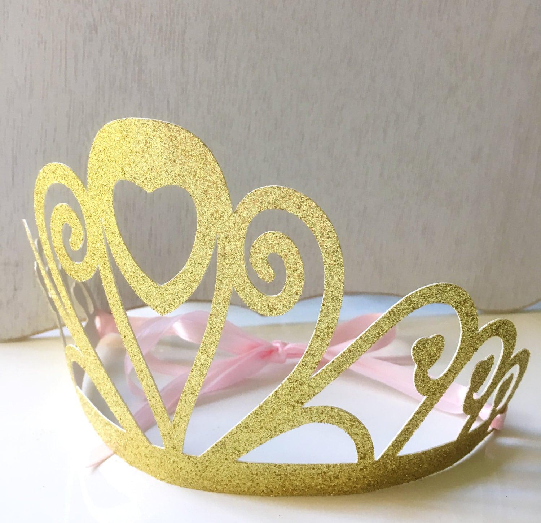 Princess Crown Princess Birthday Party Decoration Crown | Etsy
