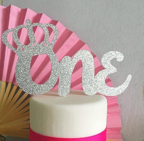 Birthday Crown Cake Topper Tiara Cake Topper First Birthday Etsy