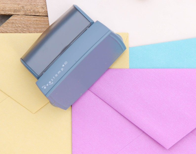 Housewarming Gift Return Address Custom Self-Inking Stamp Name /& Address Father/'s Day Wedding Invitation Personalized Stamp