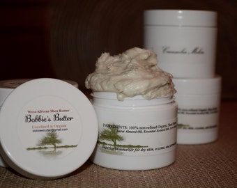 Shea Butter, Organic, unrefined
