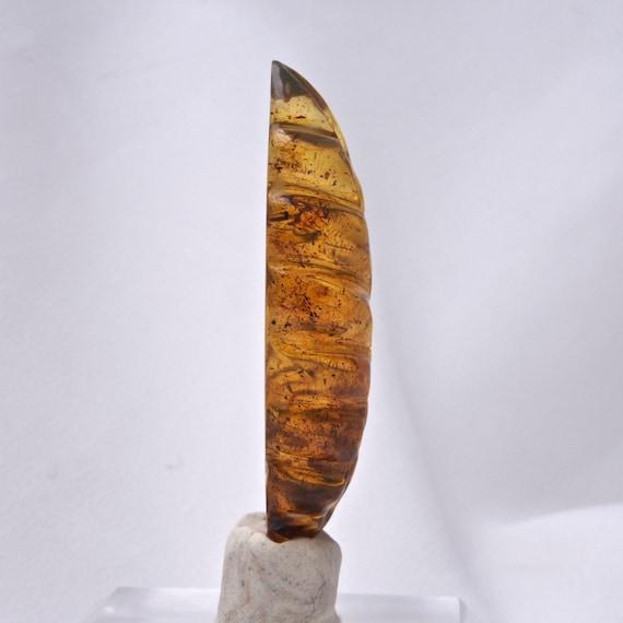 Mexicaine Mexicaine Mexicaine feuille ambre Cabochon Grade B, - 223348 ea368a