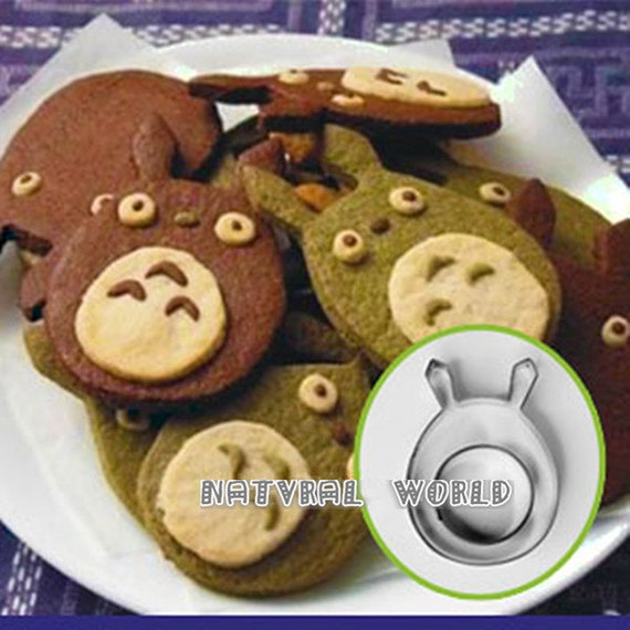 Totoro Pastry Fondant Cookie cutters