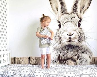 Rabbit Wallpaper Etsy