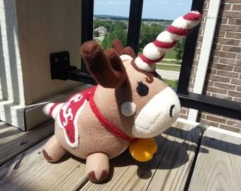 Stuffed Reindoonicorn: A TF2 Themed Plush